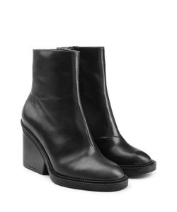 Robert Clergerie | Leather Ankle Boots Gr. Fr 36