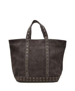 Vanessa Bruno | Suede Tote With Eyelet Trim Gr. One Size
