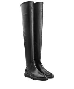Sergio Rossi | Over The Knee Leather Boots Gr. It 38