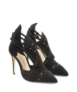 Paul Andrew | Embellished Suede Pumps Gr. Fr 38