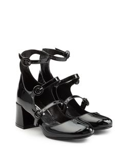 Mcq Alexander Mcqueen | Patent Leather Mary Jane Pumps Gr. Eu 36