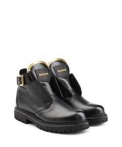 Balmain | Leather Ankle Boots Gr. Fr 38