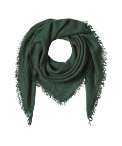 Faliero Sarti | Cashmere-Silk Fringed Scarf Gr. One Size