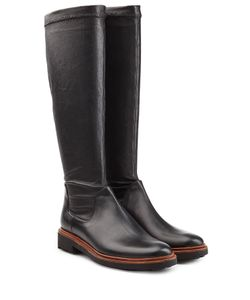 Robert Clergerie | Leather Knee Boots Gr. It 41