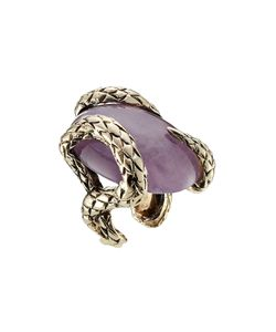 Roberto Cavalli | Statement Ring With Semi-Precious Stone Gr. M