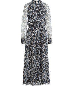 Paul & Joe | Printed Silk Chiffon Midi Dress Gr. Fr 36