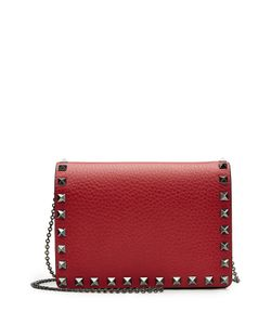 Valentino | Rockstud Leather Shoulder Bag Gr. One Size