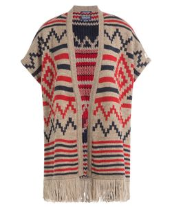 Woolrich | Printed Cape With Alpaca And Wool Gr. One Size