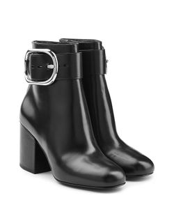 Alexander Wang | Leather Ankle Boots Gr. Eu 36
