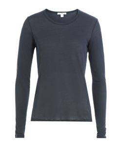 James Perse | Long-Sleeved Cotton Top Gr. 2