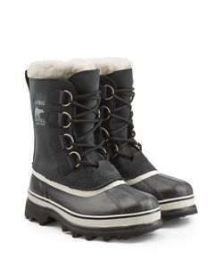 Sorel | Caribou Suede And Rubber Short Boots Gr. Us 7