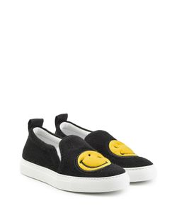 Joshua Sanders | Felted Wool Slip-On Sneakers Gr. Eu 39