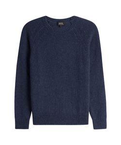 A.P.C. | Merino Wool Pullover With Alpaca Gr. Xl