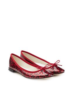 Repetto | Cendrillon Printed Patent Leather Ballerinas Gr. Fr 405