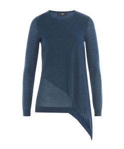Steffen Schraut | Asymmetric Merino Wool Pullover Gr. De 44