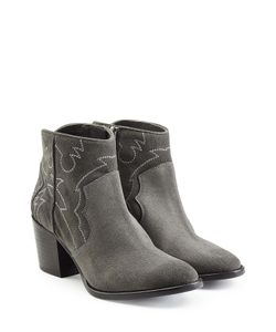 Zadig & Voltaire | Suede Ankle Boots Gr. Eu 40