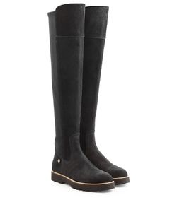 Hogan | Suede Tall Boots Gr. It 36
