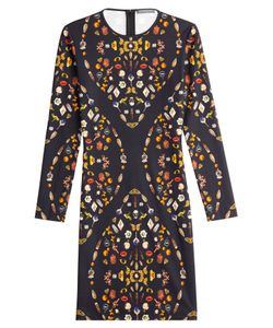 Alexander McQueen | Printed Jersey Dress Gr. It 38