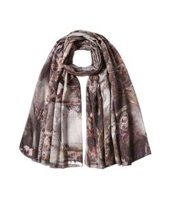 Faliero Sarti | Printed Scarf With Virgin Wool And Silk Gr. One Size