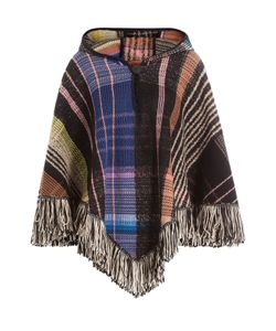 Missoni | Hooded Wool Poncho With Alpaca Mohair And Silk Gr. M