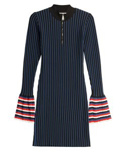 Emilio Pucci | Striped Knit Dress With Contrast Cuffs Gr. M