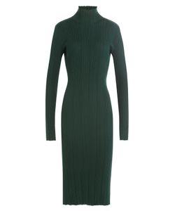 Nina Ricci | Wool-Silk Turtleneck Dress Gr. S