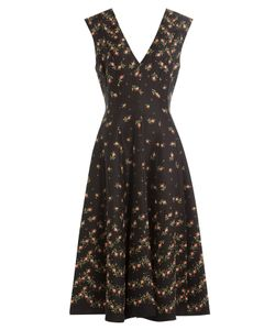 Philosophy di Lorenzo Serafini | Printed Dress With Full Skirt Gr. It 40