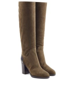 Sergio Rossi | Suede Knee Boots Gr. It 375