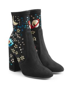 Valentino | Printed Suede Ankle Boots Gr. It 36