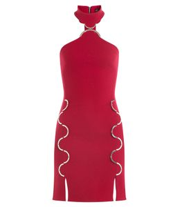 David Koma | Wool Dress With Cut-Out Detail Gr. Uk 6