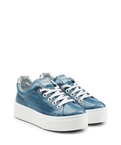 Kenzo | Coated Denim Platform Sneakers Gr. Eu 36
