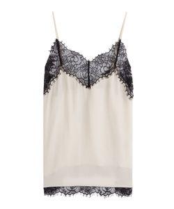 Day Birger Et Mikkelsen | Silk Camisole With Lace Gr. De 34
