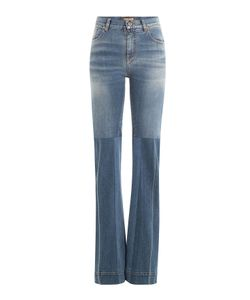 Roberto Cavalli | Flared Jeans With Patchwork Gr. It 38