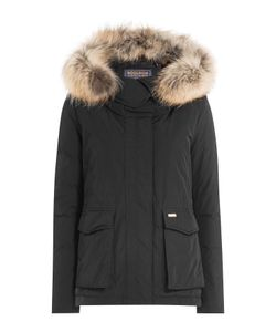 Woolrich | Military Down Parka Jacket With Fur-Trimmed Hood Gr. M