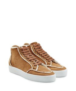 Burberry | Suede Sneakers With Shearling Lining Gr. It 36