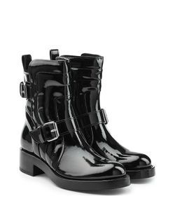 Pierre Hardy   Patent Leather Ankle Boots Gr. Fr 36
