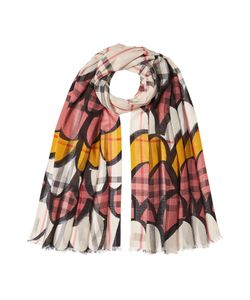 Burberry London | Print Scarf With Wool And Mulberry Silk Gr. One Size