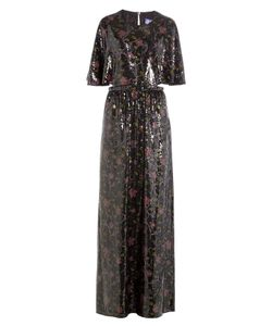 Emilio Pucci | Sequin-Embellished Silk Maxi Dress Gr. It 40