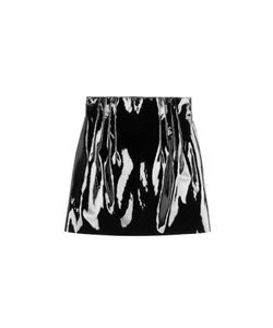 Nina Ricci | Patent Leather Mini Skirt Gr. Fr 36