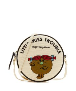 Olympia Le-Tan | Little Miss Trouble Embroidered Shoulder Bag Gr. One Size