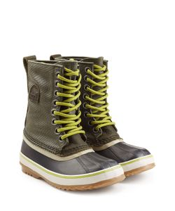 Sorel | 1964 Premium Rubber Leather And Canvas Short Boots Gr. Us 6
