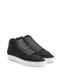 Burberry | Suede Sneakers With Shearling Gr. It 39