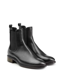 Salvatore Ferragamo | Leather Ankle Boots Gr. Us 95