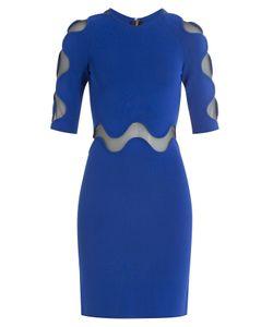 David Koma | Dress With Sheer Panels Gr. Uk 8