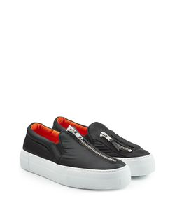 Joshua Sanders | Fabric Slip On Sneakers With Zippers Gr. Eu 36