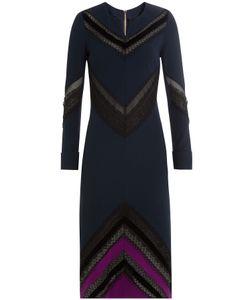 Roland Mouret   Dress With Sheer Inserts Gr. Uk 8