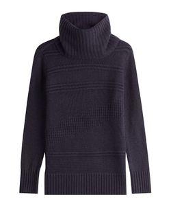 Diane Von Furstenberg | Wool Turtleneck Pullover With Cashmere Gr. S
