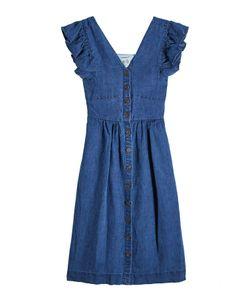 Sea | Button-Front Cotton Dress Gr. Us 2