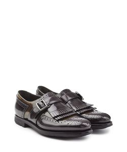 Churchs | Leather Monk Shoes With Fringe Gr. It 41