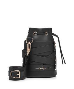 Marina Hoermanseder | Leather Drawstring Bag Gr. One